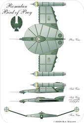 Steam Trek Romulan ship