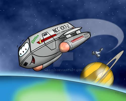 Shuttlecraft toon