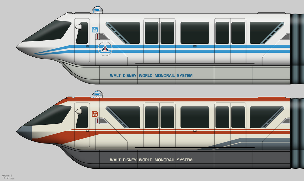 Star Tours Monorail By Bj O23 On Deviantart