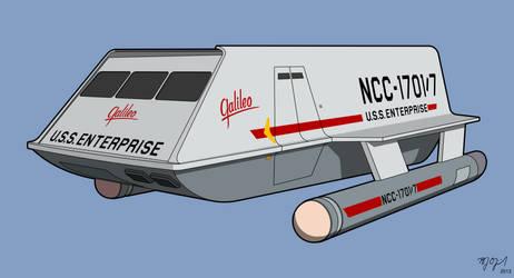 Shuttlecraft Galileo illustration