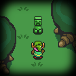 Link meets a Creeper by BJ-O23