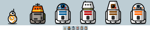 Astromech icons by BJ-O23