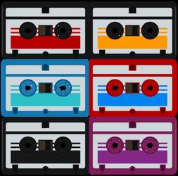 Mini Cassettes by BJ-O23