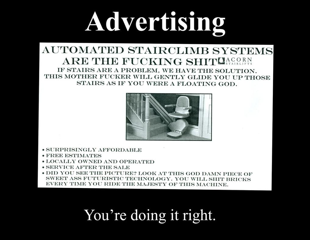 Demotivational Posters Sale AD by Moeraycomics