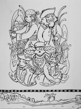 Coloriages Les Pirates Page 2
