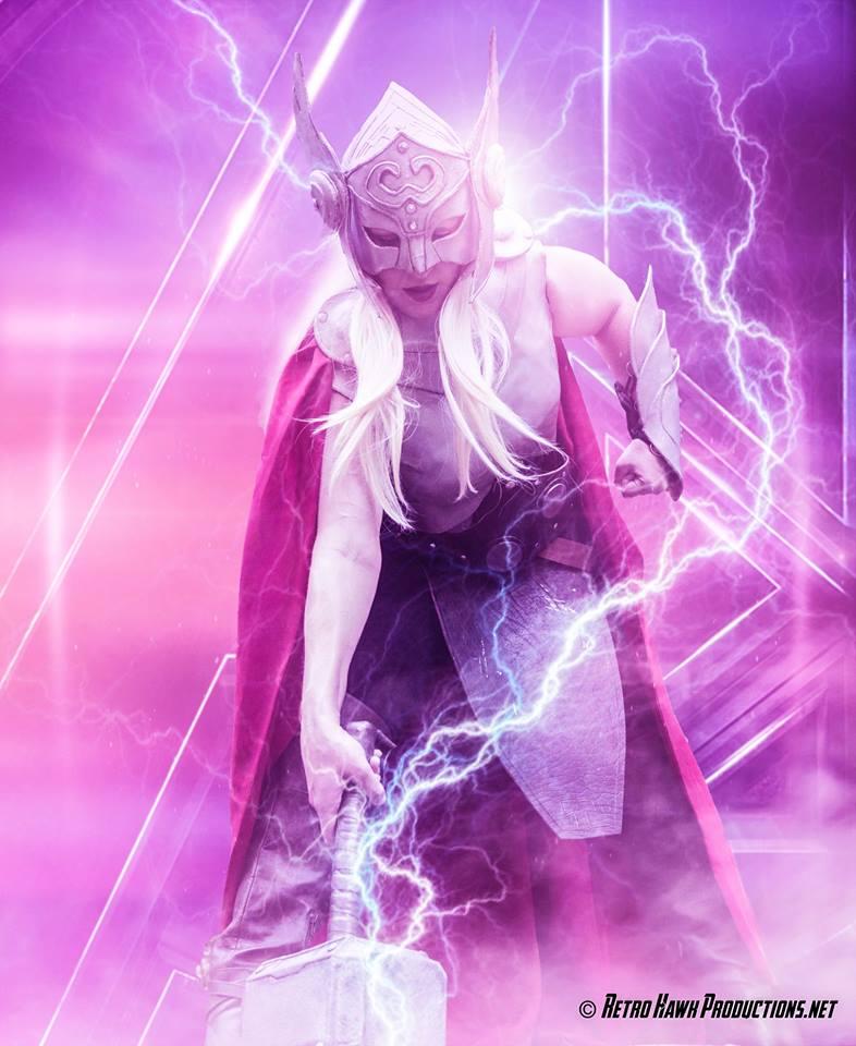 The Goddess of Thunder by MimiruCosplayDiary