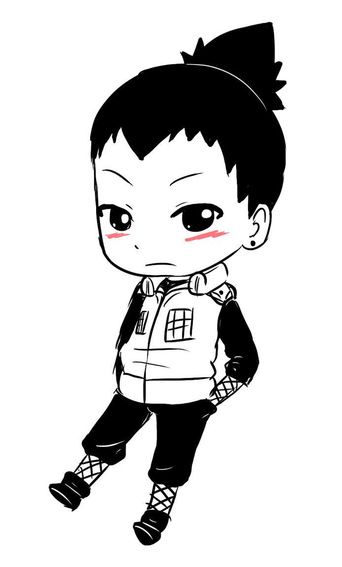 Shikamaru chibi by Harukishi on DeviantArt