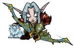 Mini Night Elf Hunter