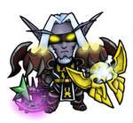 Mini Night Elf Warrior