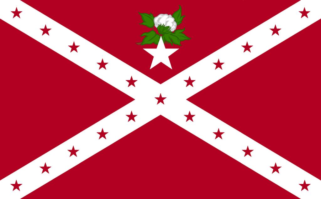 Alternate Alabama State Flag #2 by Alternateflags