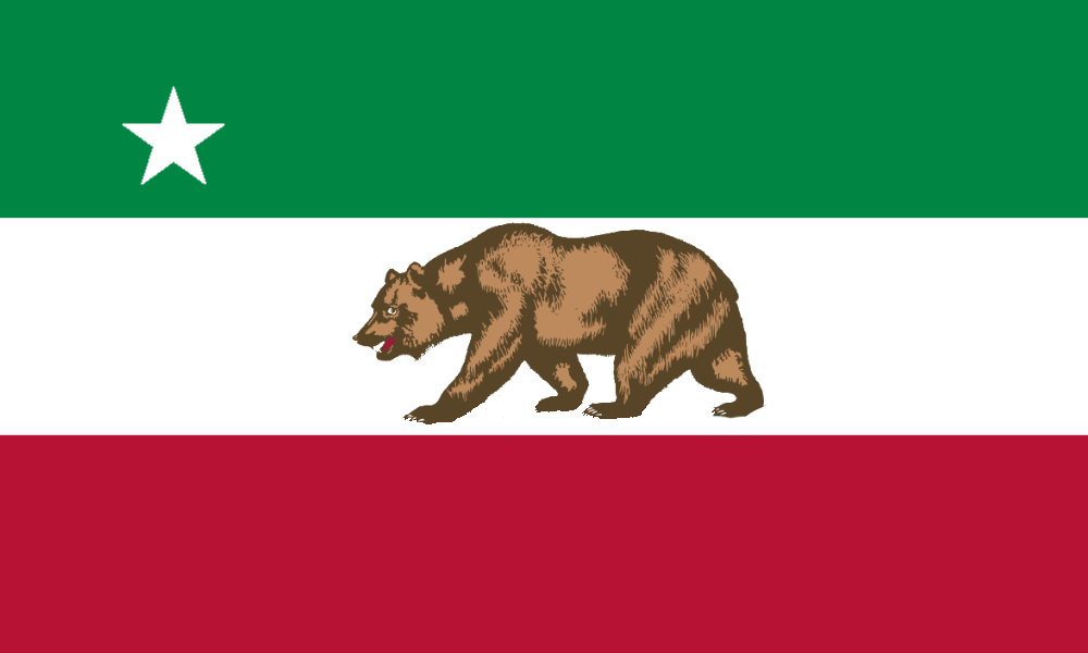 California Republic Flag By Alternateflags