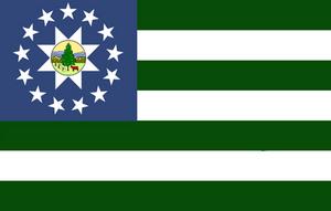 Alternate Flag of Vermont #2 by Alternateflags