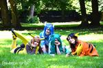 Pokemon girls by Minami19