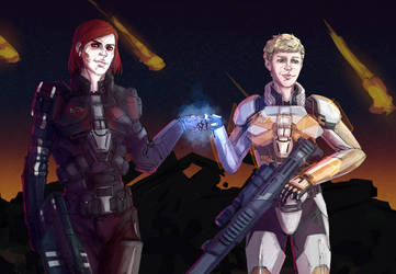 N7 Day 2018 | Renegade and Paragon by CheshireAlex