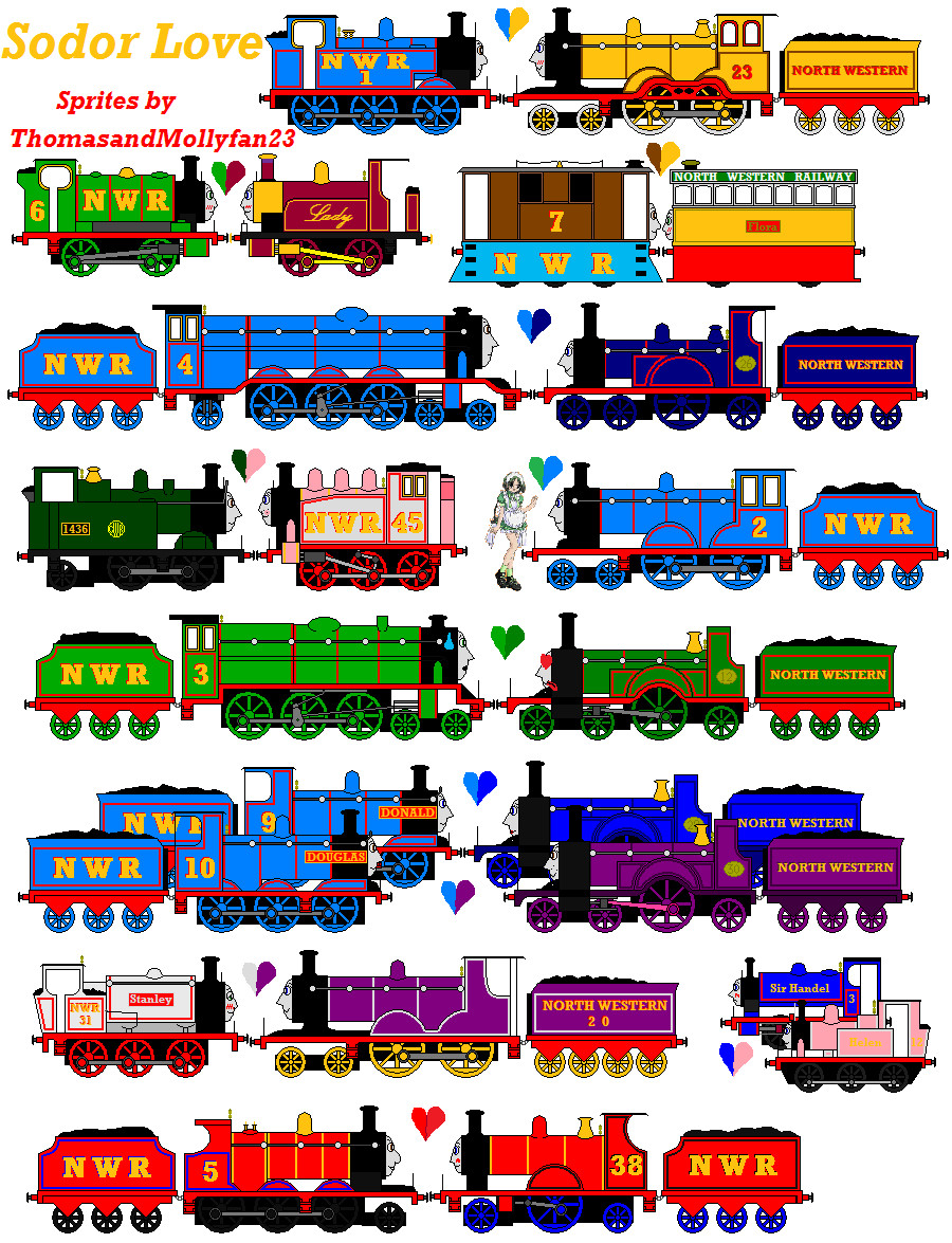 Thomas And Friends Favourites By Thefranksterchannel On Deviantart
