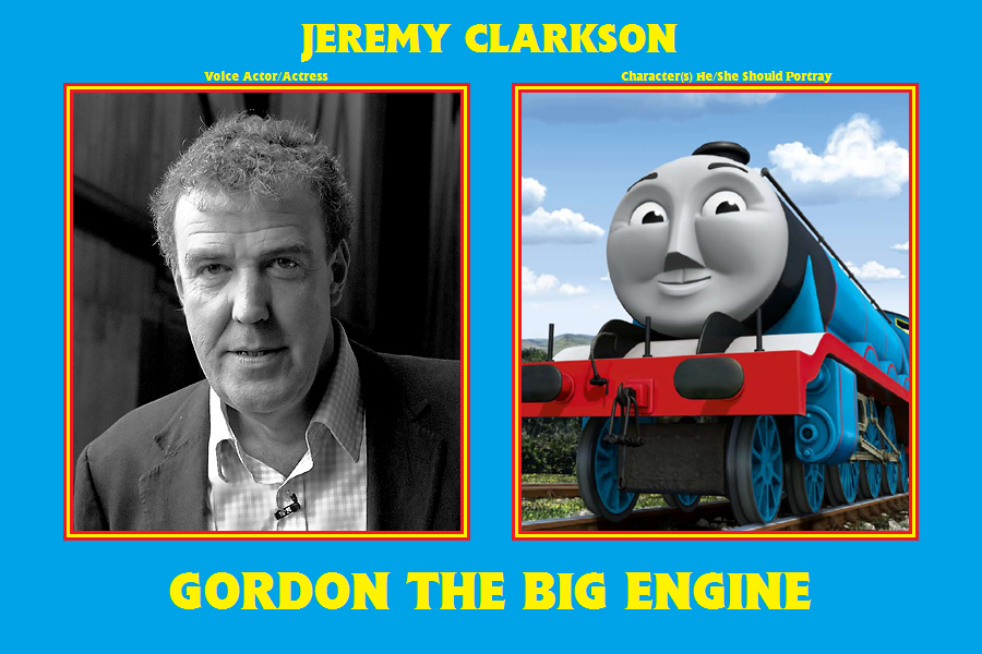 Thomas and Friends Voice Actors - My Ideas by