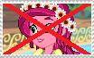 Anti-Gloriosa Daisy Stamp by RailfanBronyMedia