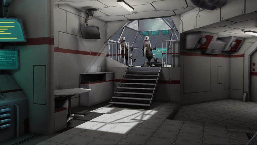 Spaceship Interior 04 By Casanova92 ...