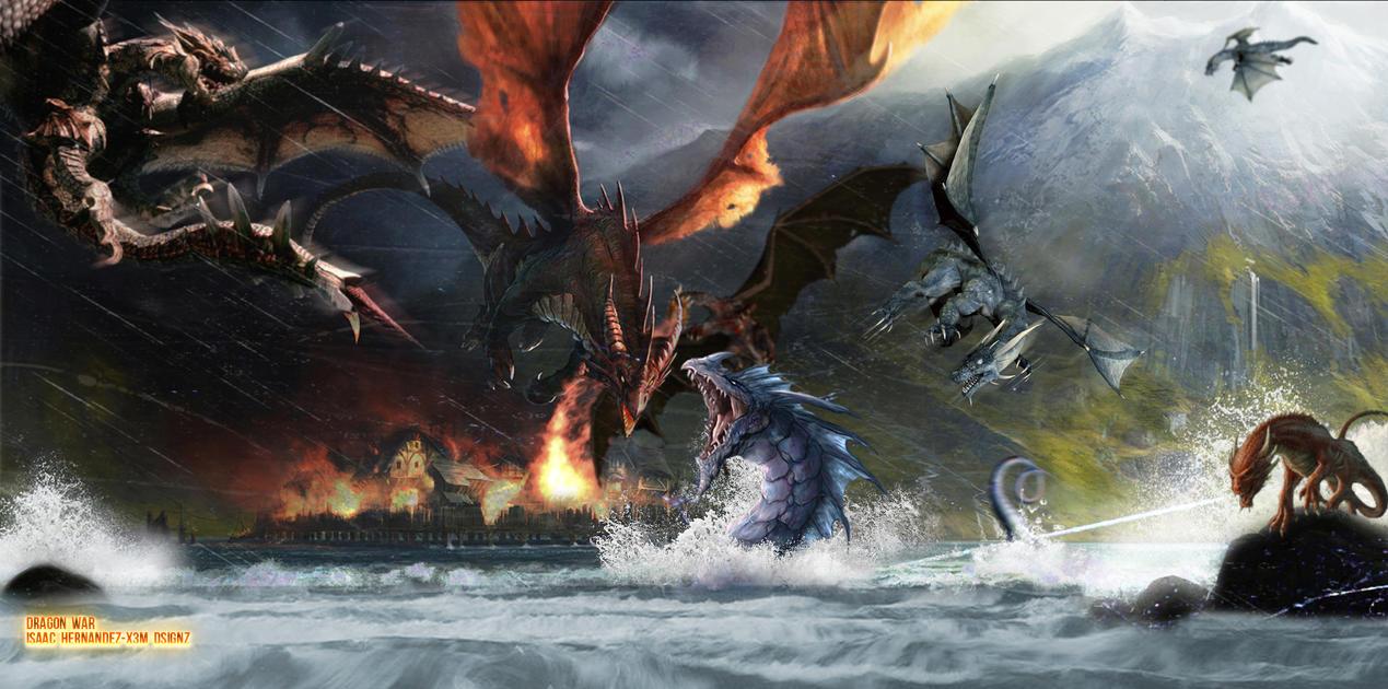 Dragon War by midasdesign08 on DeviantArt  Dragon Wars Dragon