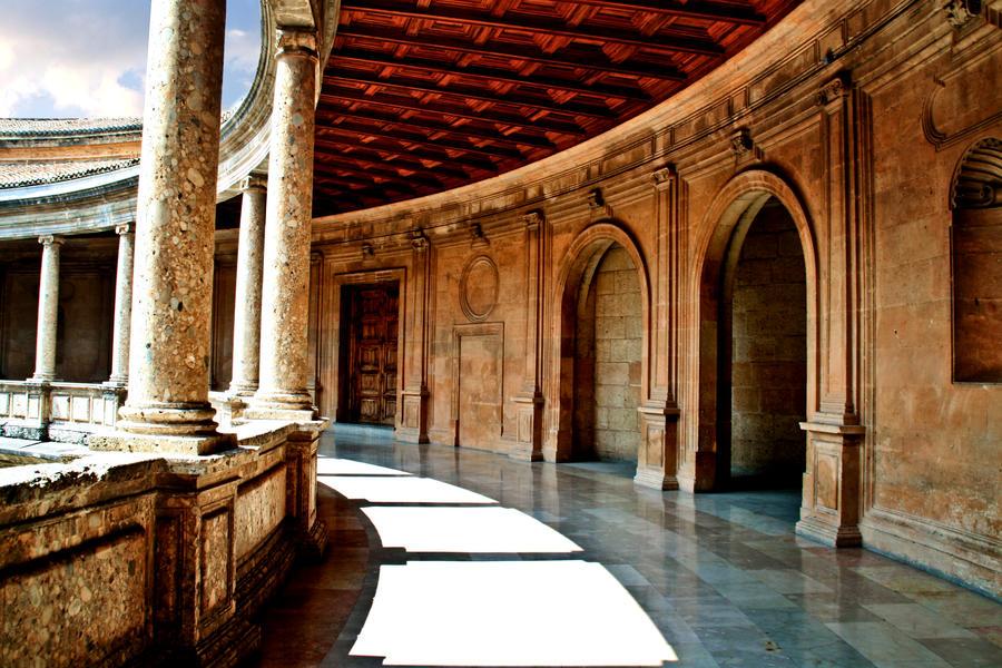 Palacio - Palace Carlos V - La Alhambra - Granada by REI-BCN on DeviantArt
