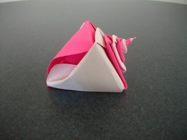 Origami Conch Shell