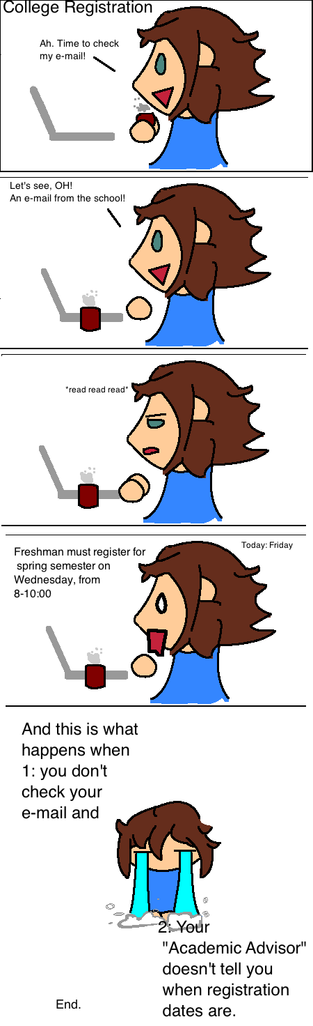 College Registration by Sashova