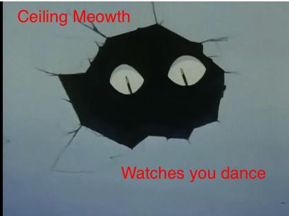 Ceiling Meowth by Sashova