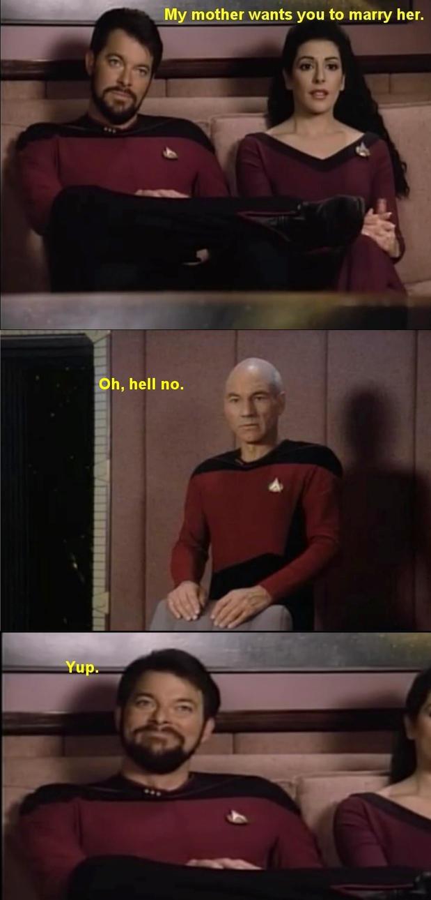Star Trek: Oh, hell no. by Sashova