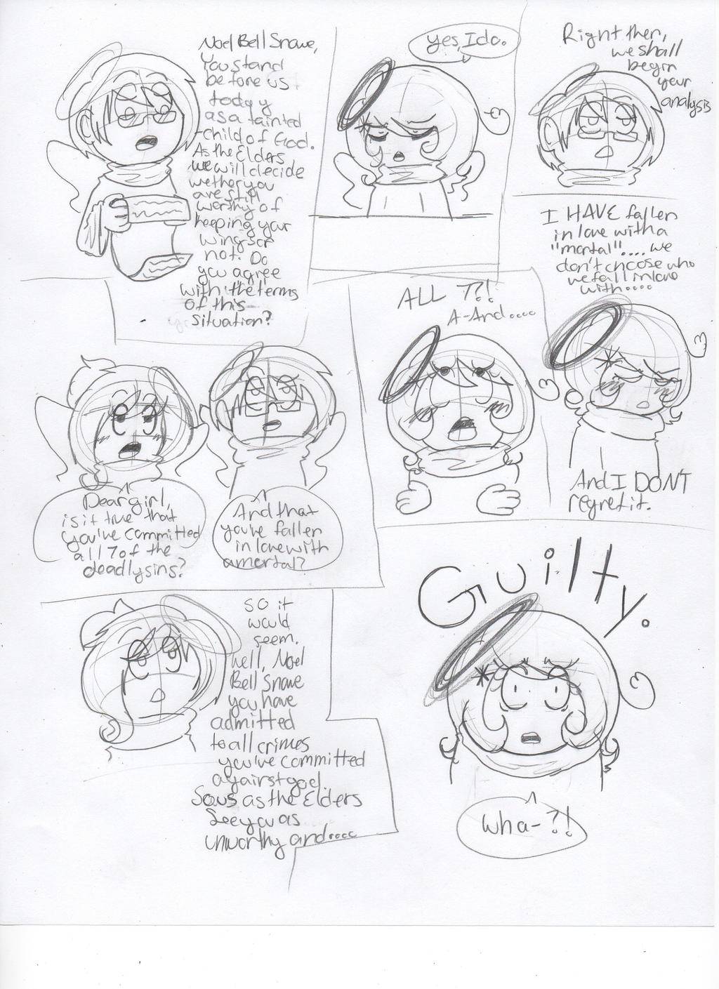 Crappy comic: You are unworthy. by Ask--Miki