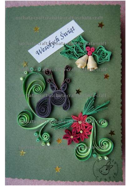 Quilling - Card 28 by Eti-chan