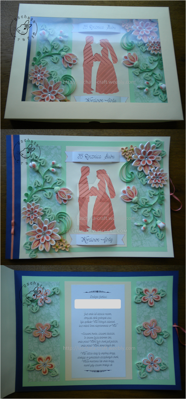 Coral wedding anniversary by Eti-chan