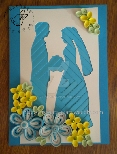 Blue wedding by Eti-chan