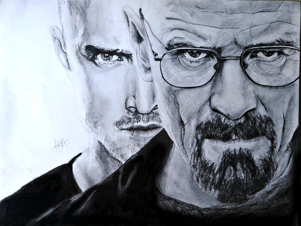 Breaking Bad drawing by HGAlba