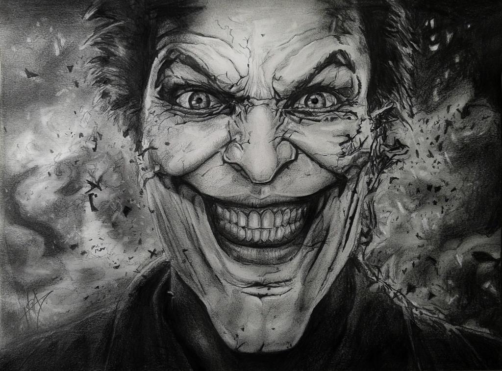 Joker Scribble Drawing : Joker drawing by hgalba on deviantart