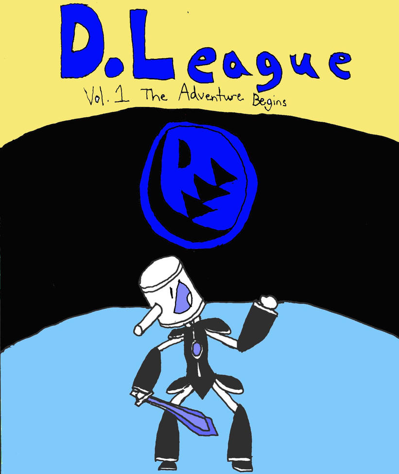 D.League vol 1 cover by DLeagueman