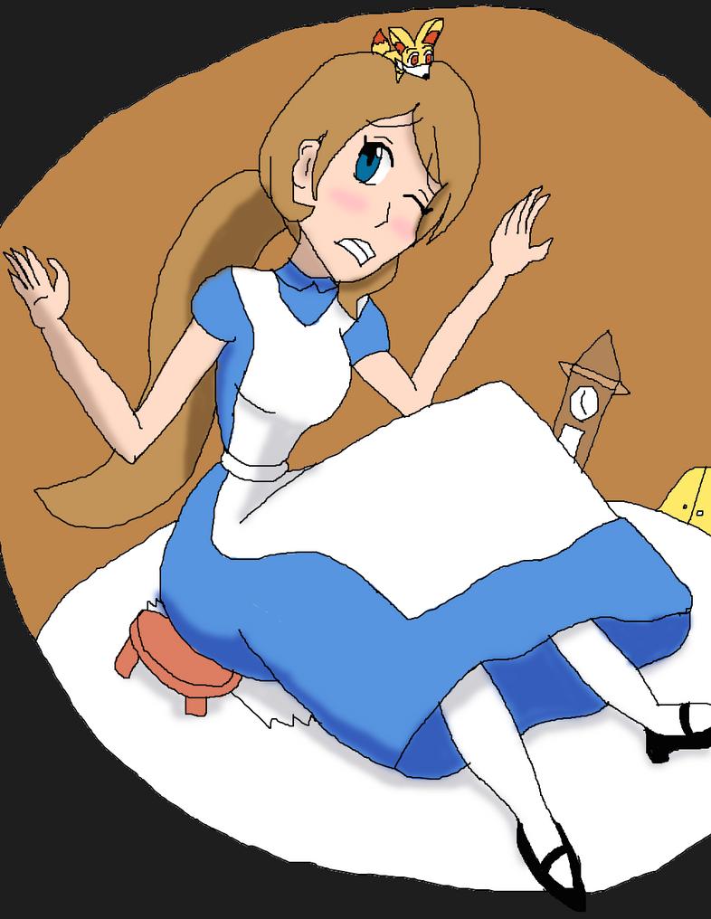 Serena in Wonderland by DLeagueman