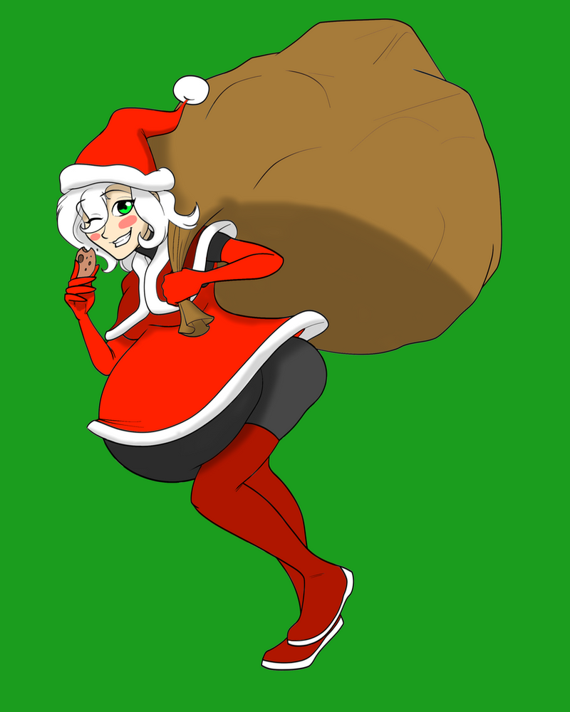 Santa-chan color in by DLeagueman on DeviantArt