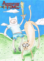 Finn and Jake by eMoneyGraphix