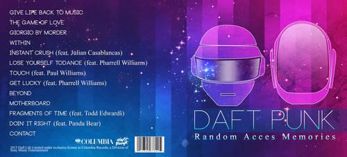 Daft Punk CD Cover