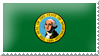Washington State Flag USA by 2753Productions