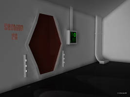 Sci Fi Room WIP by 2753Productions