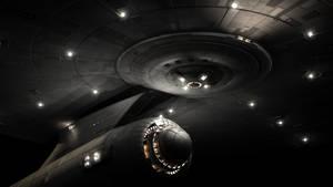 USS Saladin Hull Lighting test