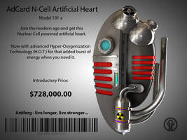 AdCard Nuclear Cell Heart 101z by 2753Productions