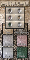 Cinema 4D Granite Shader Pack