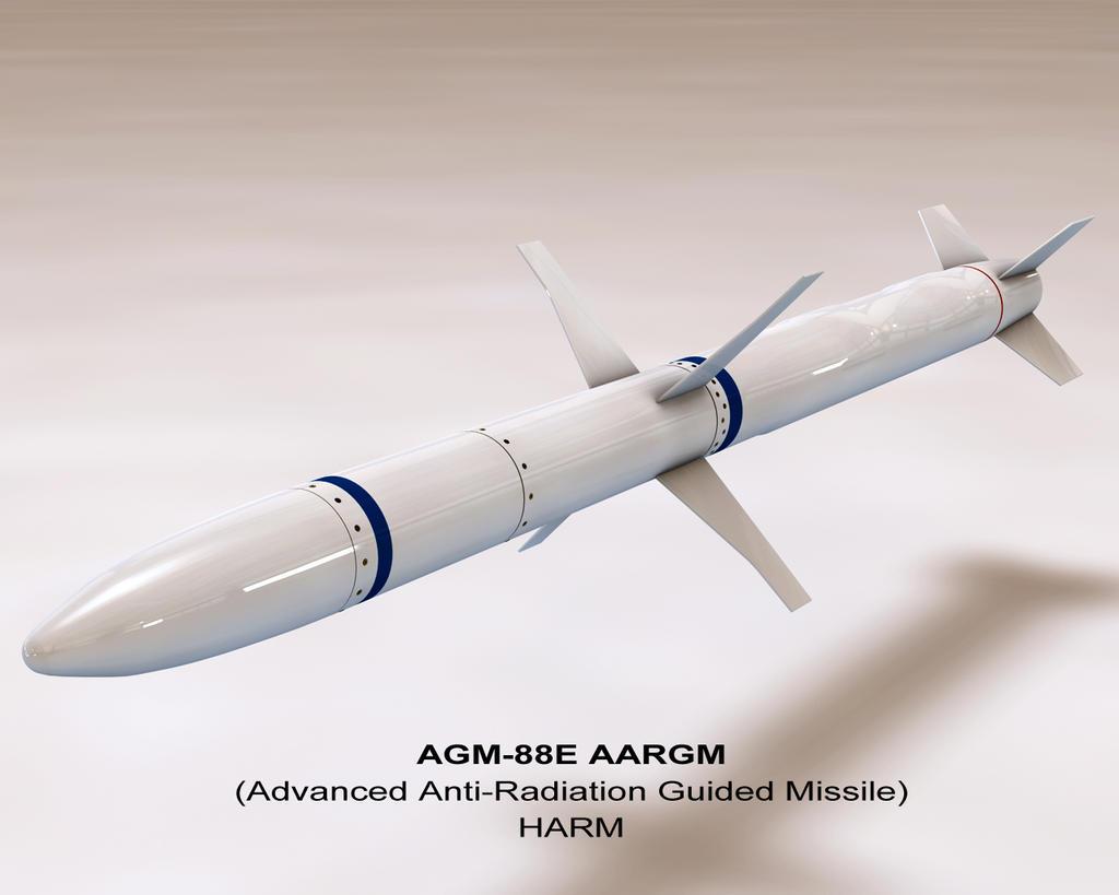 النسخة الجديدة من الهارم، العدو الاول للرادارات! AGM_88E_HARM_WIP_1_by_scott2753