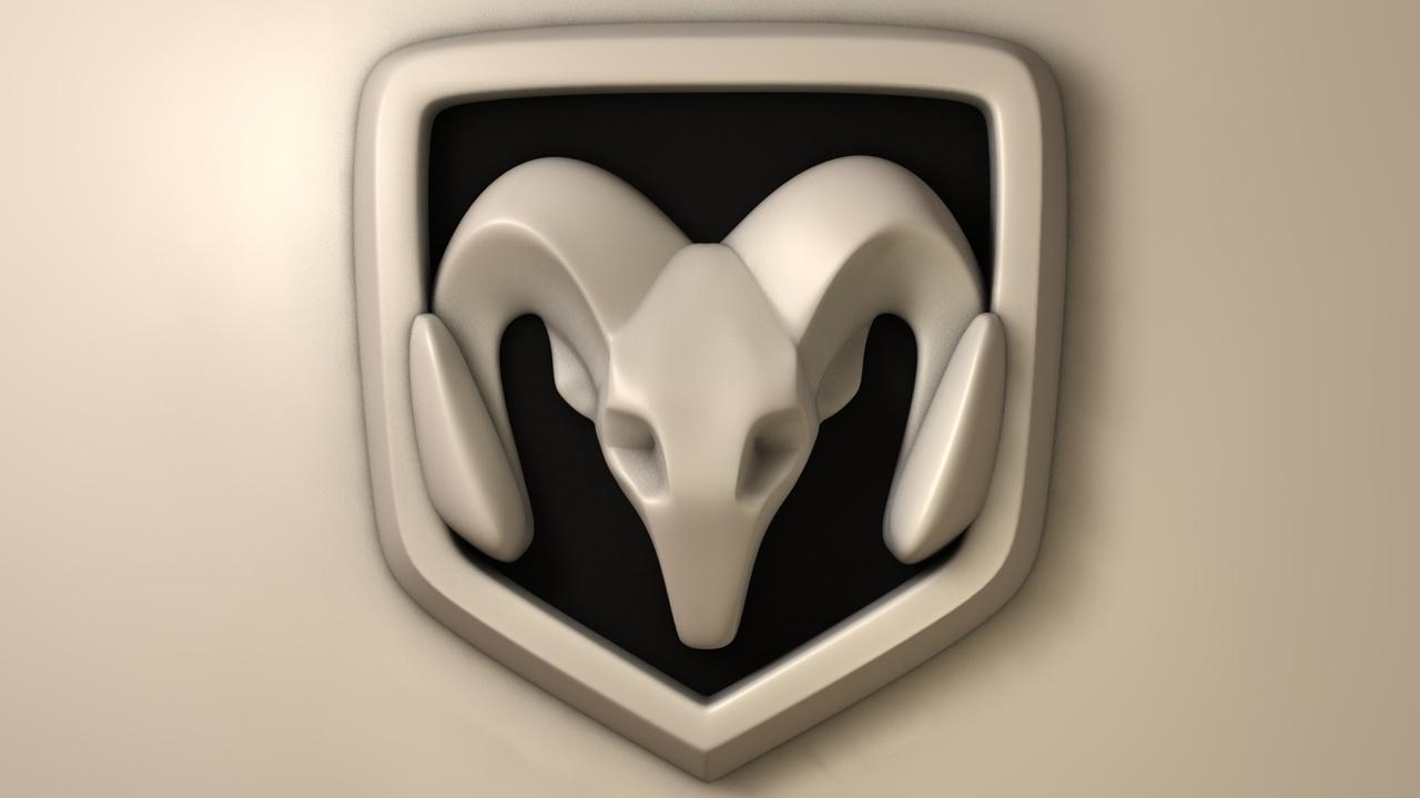 Dodge Logo 3D 3 by zaiggen on