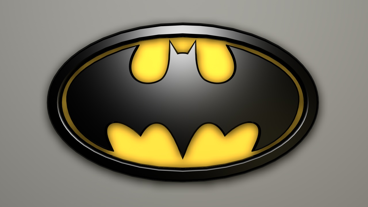 Batman Logo 3D by zaiggen on DeviantArt