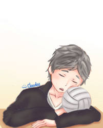 Sugawara (Haikyuu) + Speedpaint by JhyD