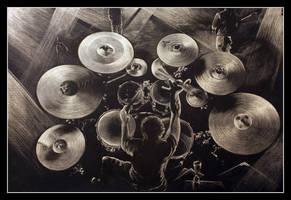 Drummer by garfildus