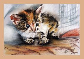 Kitty II by garfildus